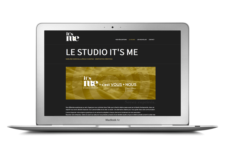 Réalisation graphique studio it's me